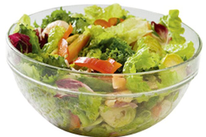 Как уменьшить калорийность салатов