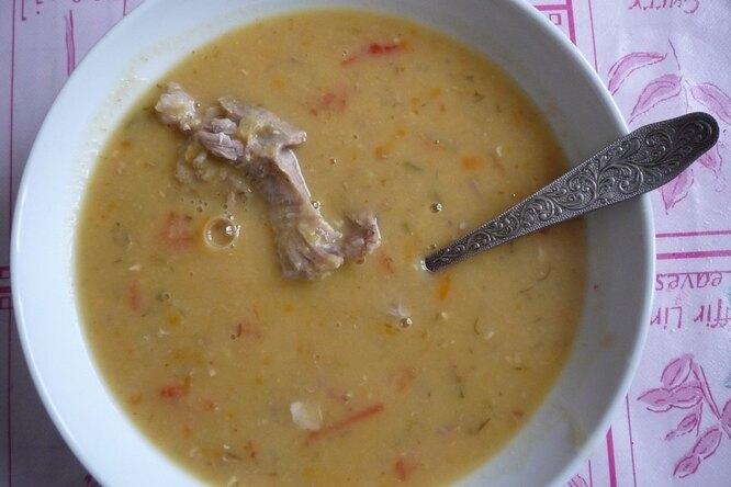 Гороховый суп-пюре из скороварки