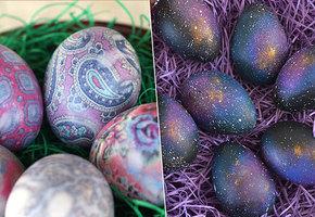 Подготовка к Пасхе: 10 ярких идей для окрашивания яиц
