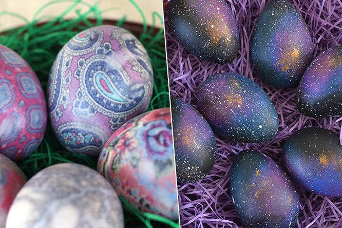 Подготовка кПасхе: 10 ярких идей дляокрашивания яиц