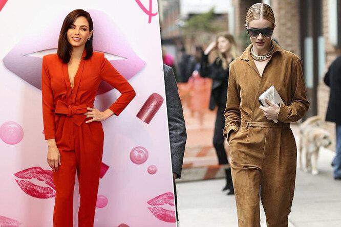 Не хуже платья: почему комбинезон стал звездным трендом