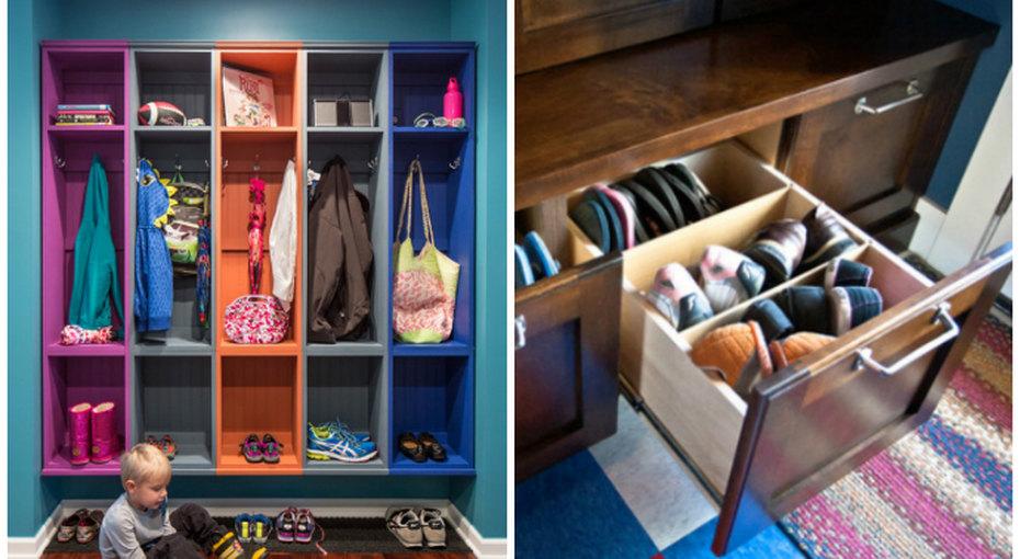 Как организовать хранение обуви - идеи иварианты