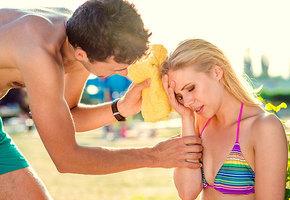 Солнечный удар: как его распознать и справиться с ним