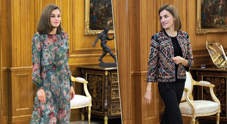 7 стильных образов измасс-маркета: что носит королева Летиция