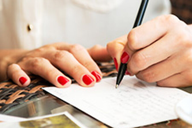 Пишите письма (от руки)!