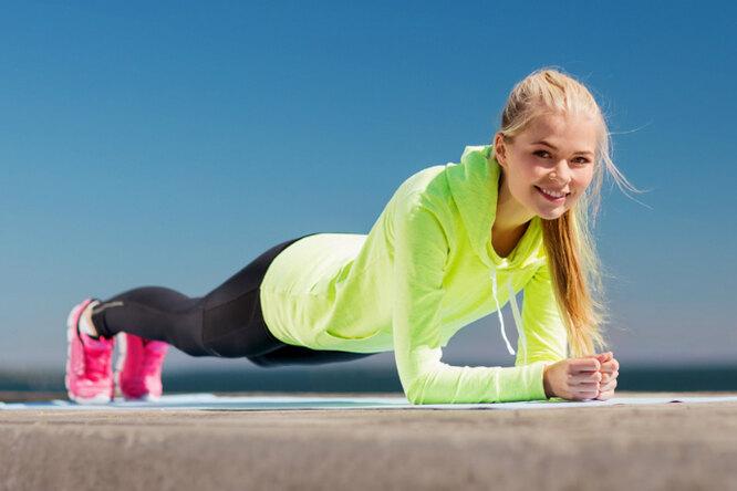 9 вариантов упражнения «планка» дляразных проблемных зон