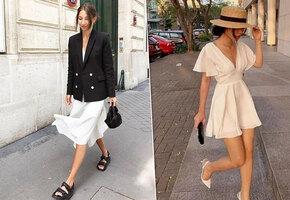 Главная покупка весны: как носить модное белое платье из хлопка