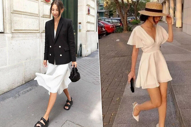 Главная покупка весны: как носить модное белое платье изхлопка