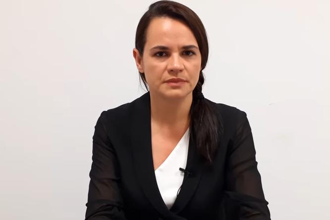 «Я готова выступить лидером»: Светлана Тихановская обратилась кнации
