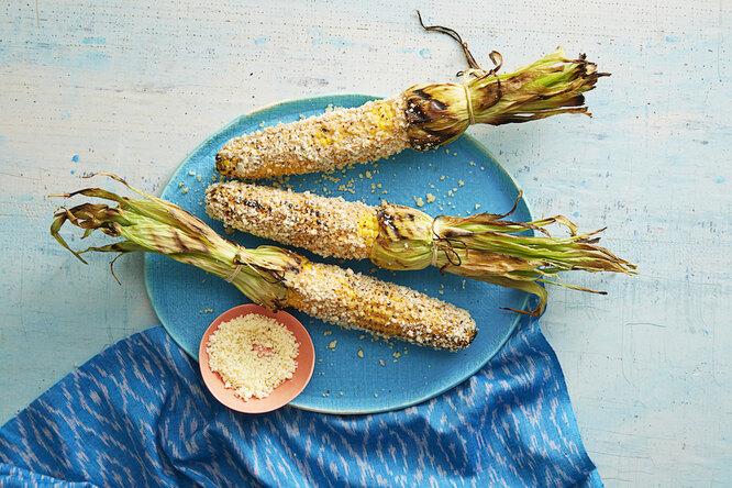 Вкуснейшая кукуруза в початках на гриле