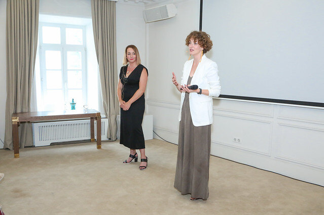 Анна Зырянова и Ольга Нечаева