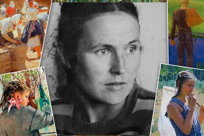 Яблонская, художница вне рамок: сталинские премии иненависть чиновников