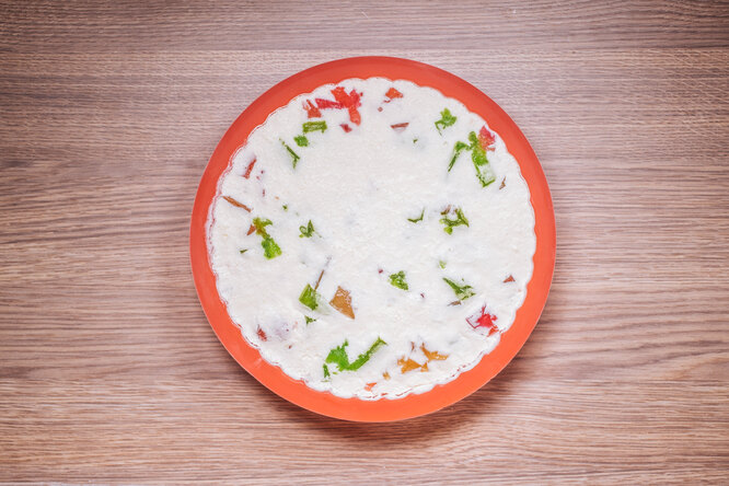 Торт «Битое стекло» с желатином без выпечки