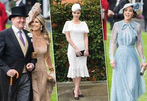 Королевский шик: Кейт Миддлтон и другие монаршие особы на скачках Royal Askot