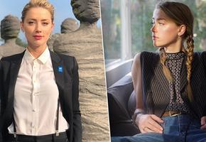 Как носить мужской пиджак: 5 примеров от Эмбер Херд