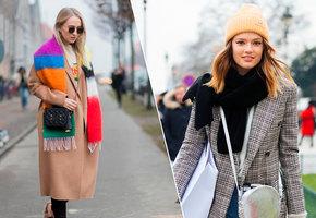 Утепляемся: 8 оригинальных способов носить шарф