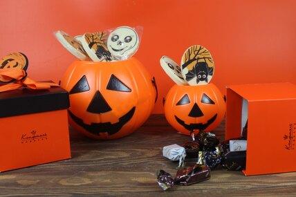 Отмечаете Хеллоуин? Получите веселую тыкву вподарок от«Конфаэль» запокупку!