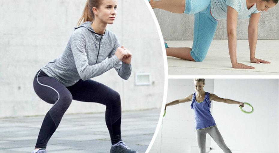 6 эффективных упражнений против «галифе»