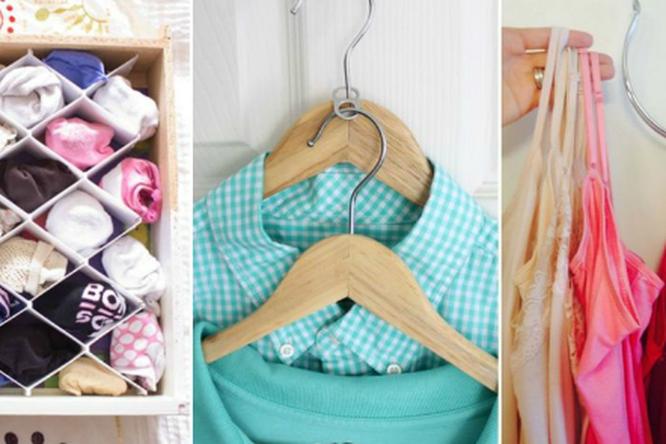 10 идей поупорядочиванию гардероба