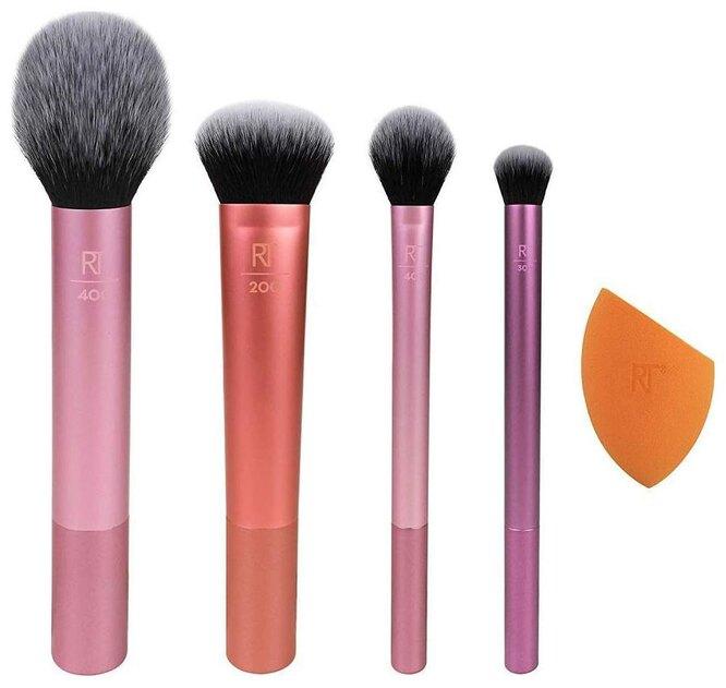 Набор кистей и спонж для макияжа Real Techniques Everyday Essentials, 2490 руб