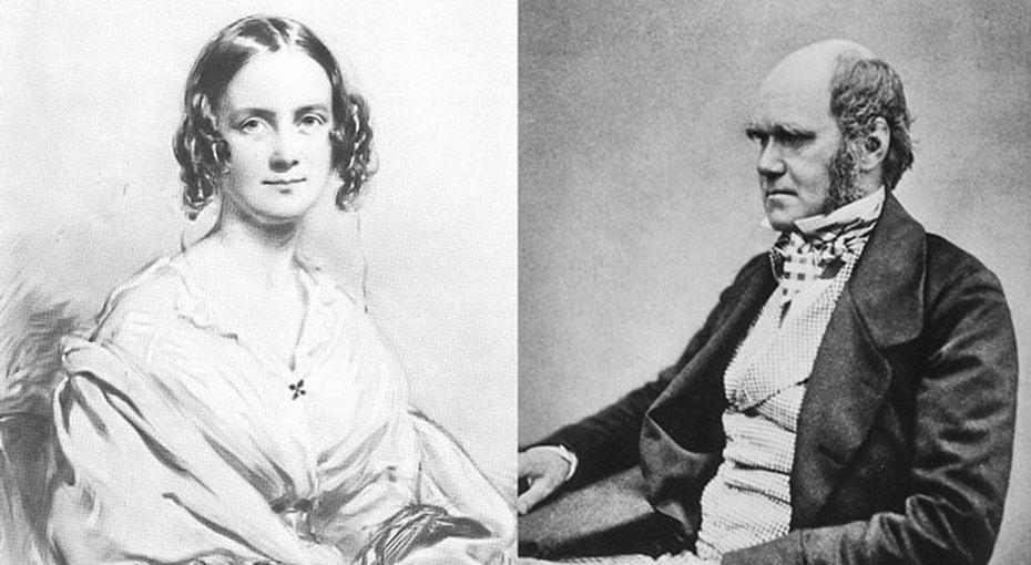 Картинки по запросу Чарлз Дарвин и Эмма Веджвуд