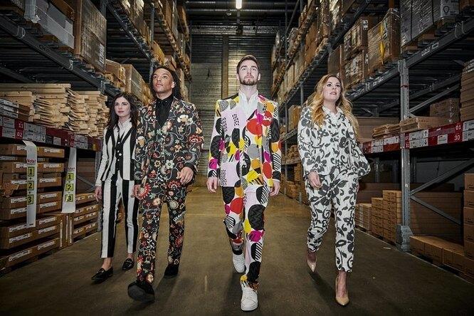 IKEA выпустила коллекцию одежды изтканей дляобивки ипостельного белья