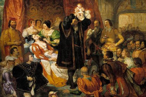 Как вынашивали ирожали королевы: воздухом недышать, зрителей пригласить