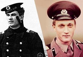 Как выглядели российские звезды во время службы в армии