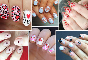 30 вариантов стильного маникюра на День святого Валентина
