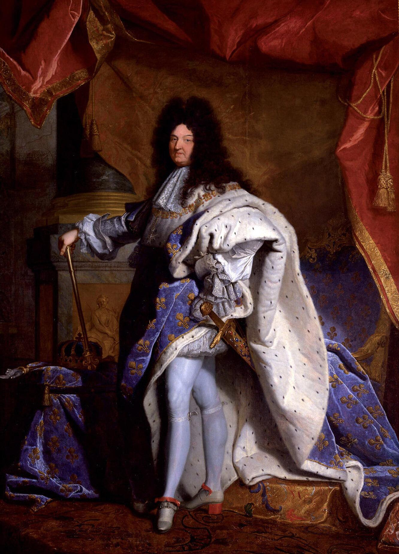 Риго Гиацинт, « Людовик XIV», 1701