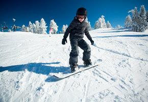 Как научить ребенка кататься на сноуборде