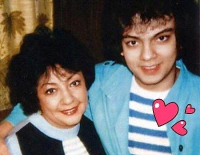 Филипп Киркоров с мамой