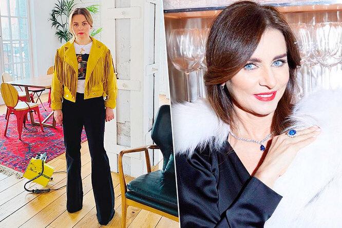 Джинсы ипарча: как одеваются жёны популярных российских певцов