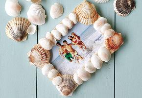 Декор из ракушек: 3 способа сохранить воспоминания о морском отдыхе