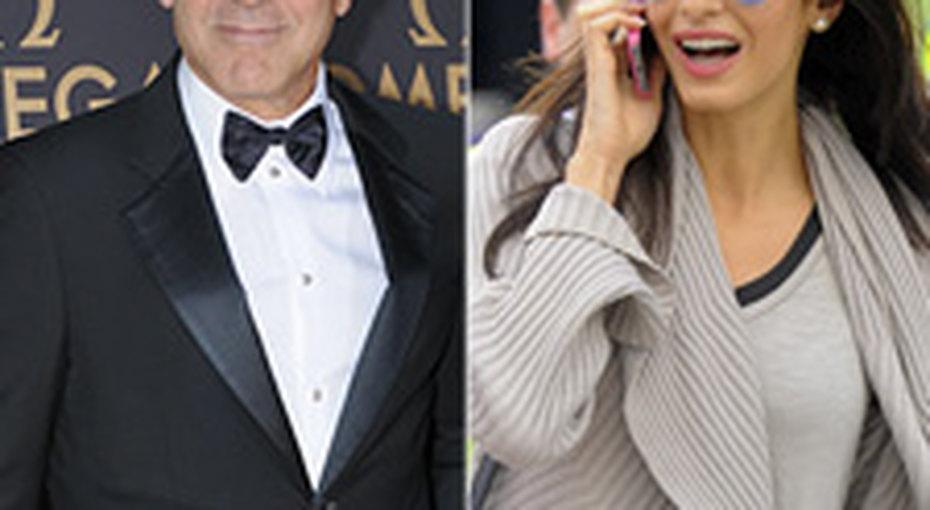 Джордж Клуни устроил невесте сюрприз