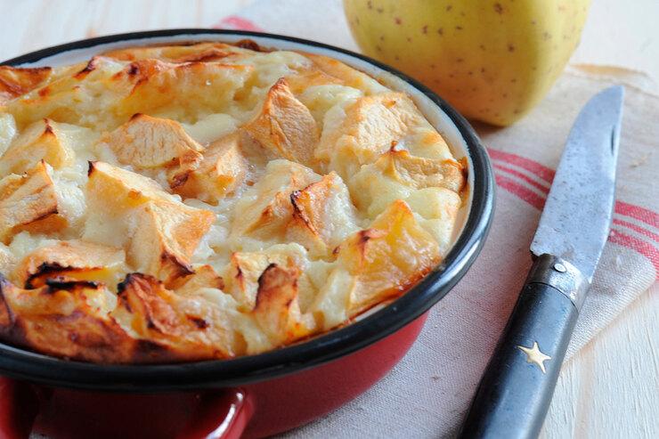 Рецепт яблочного клафути