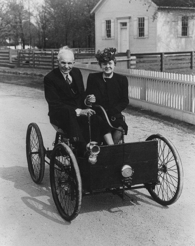 Генри и Клара Форд