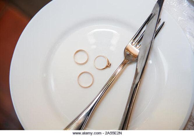 свадьба посуда