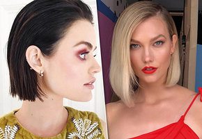 Звездные идеи: 20 модных причесок для тонких волос