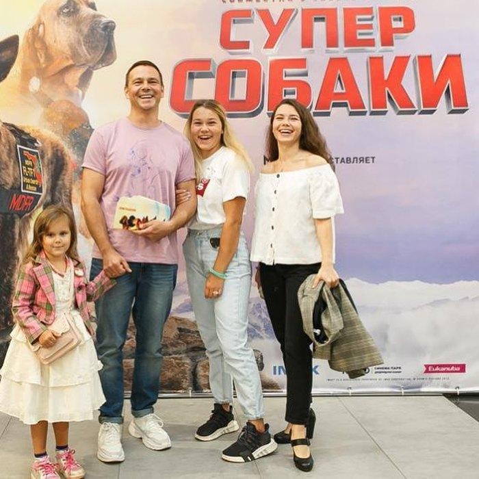 Сергей Губанов, Карина Губанова, Ангелина Губанова, Екатерина Губанова