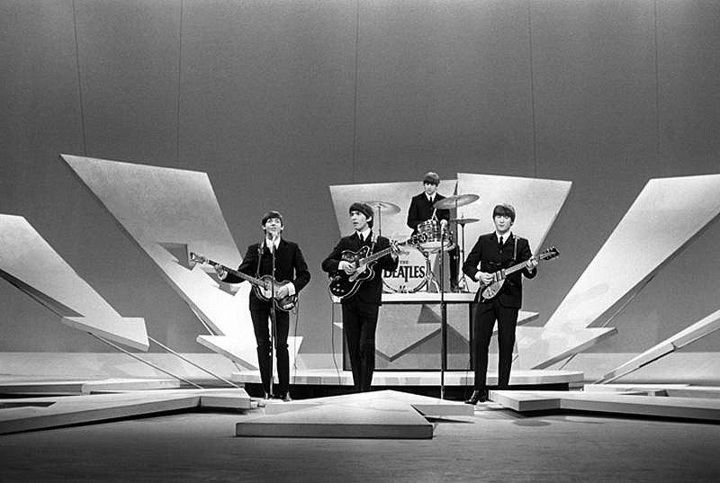 Гарри Бенсон Первое появление наШоу Эда Сулливана. Нью-Йорк 1964