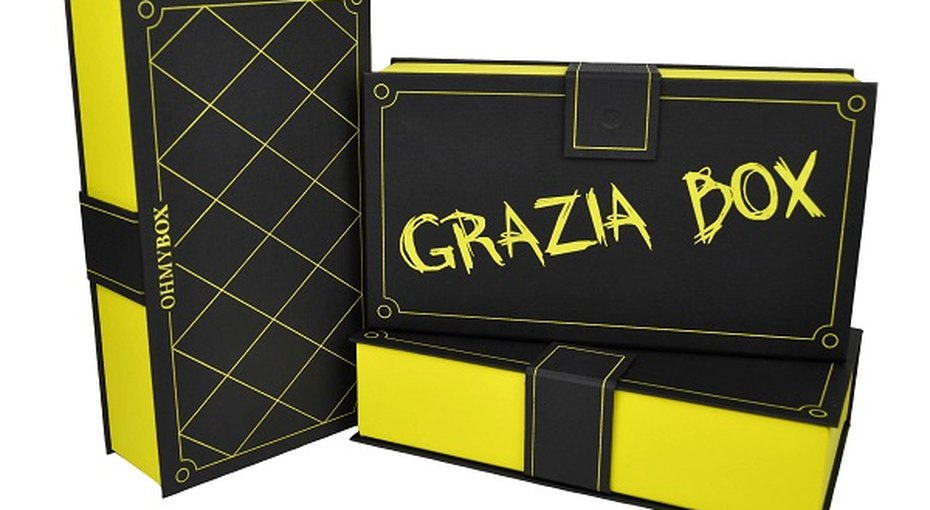 Дизайнерская коробочка красоты отжурнала GRAZIA