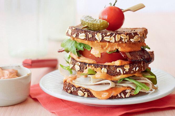 Клаб сэндвич с индейкой