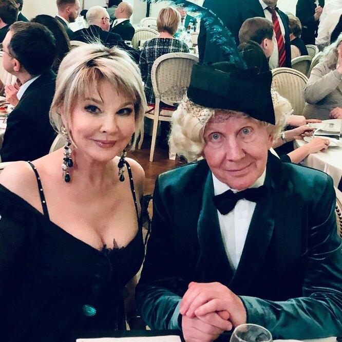 Татьяна Веденеева и Юрий Чернов