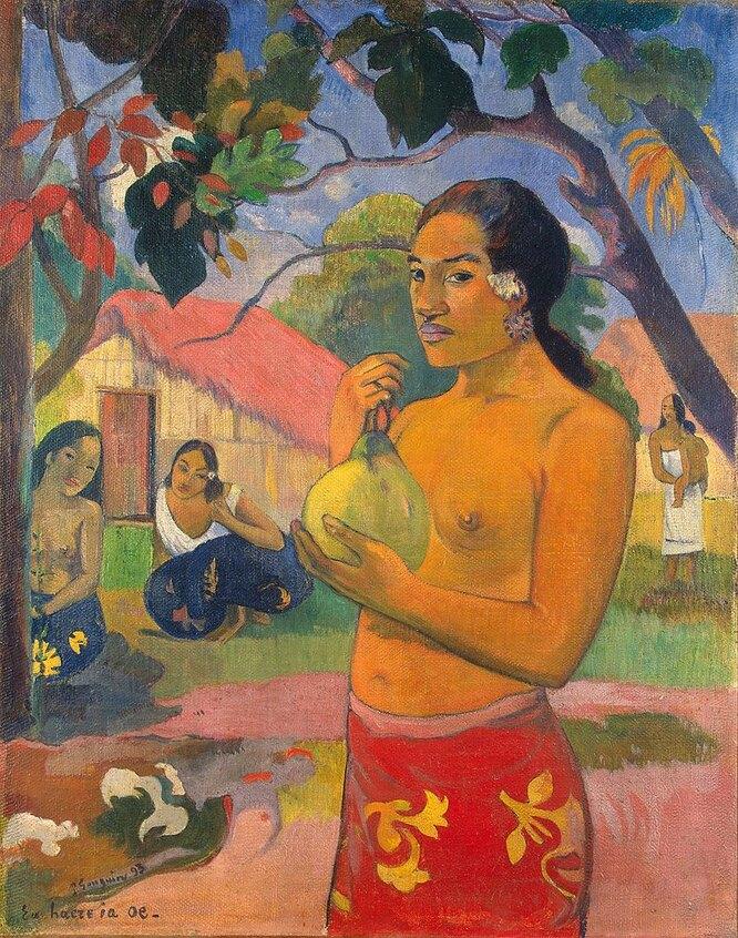 Женщина, держащая плод. 1893
