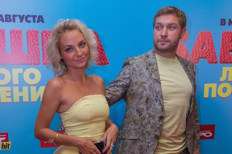 Дарья Сагалова смужем Константином Масленниковым