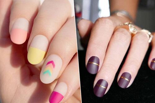 Оценка отлично: идеальный маникюр длявсех форм ногтей илюбых оттенков лака