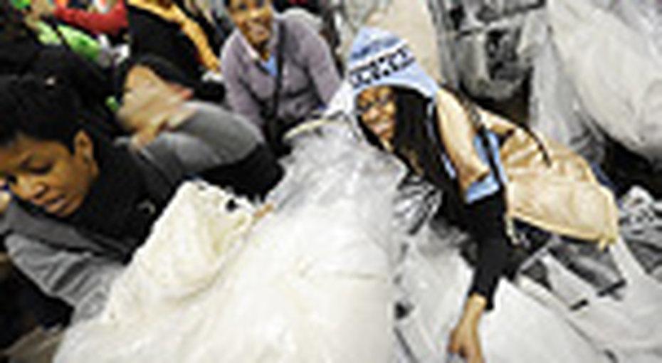 Невесты Нью-Йорка устроили забег