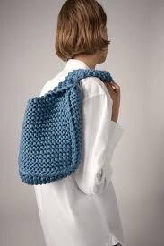 Вязаная сумка, Zara, 1999 руб