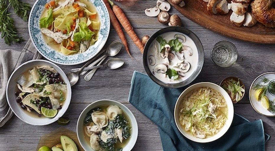 Вот это суп! 5 вкусных вариантов наоснове обычного куриного бульона